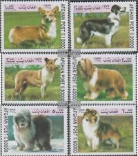 afghanistan 1856-1861 (complète edition) neuf avec gomme originale 1999 Chiens