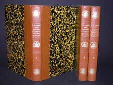 LANTIER Voyages d'Antenor en GRECE et en ASIE 3T Reliés COMPLET 3 Gravures  1792