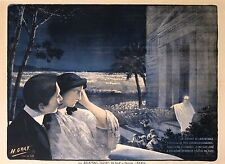 H. GRAY  VINTAGE THEATER POSTER THE RETURN OF JERUSALEM  LITHOGRAPH circa 1903