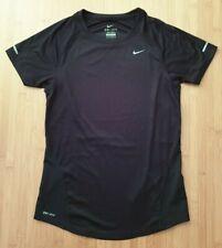 NIKE DriFit T-Shirt Damen Schwarz Black Gr. XS