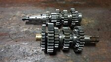 72 SUZUKI TS125 DUSTER TS 125 J SM66B ENGINE TRANSMISSION GEAR SHAFT ASSEMBLY
