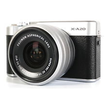 Fujifilm X-A20 Body & XC 15-45mm f/3.5-5.6 OIS PZ Lens - Silver