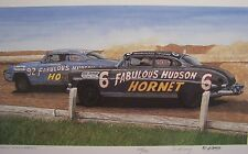 HUDSON HORNET 1950 1951 1952 1953 1954 TWIN H POWER DIRT TRACK RACE CARS DOC