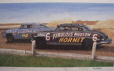 HUDSON HORNET 1949 1950 1951 1952 1953 TWIN H POWER VINTAGE RACE CARS 3 DOC MAN