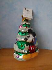 Christopher Radko Mickey & Minnie Christmas Tree Ornament 1997 Disney