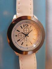 Daniel Jouvance Damen Armbanduhr silberfarben weiß neu