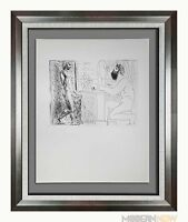 """Pablo PICASSO Lithograph LTD ed. """"Sculptor Seated by Window.."""" ~ Sign ++FRAMING"""