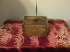 Vintage Wood PRIMITIVE Butter Mold COUNTRY CHIC