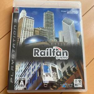 PS3 Railfan 00083 Japanese ver from Japan