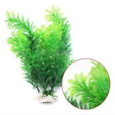 Artificial Water Green Plant Grass for Fish Tank Aquarium Decor Ornament 30cm