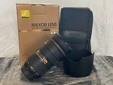 Nikon AF-S NIKKOR 24-70mm f/2.8G ED FX Full Frame Lens - NEW Unused