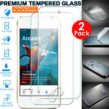2x 100% Genuine TEMPERED GLASS Screen Protector for Apple iPod Touch 7 / 7th Gen