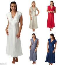 Pijamas y batas de mujer camisón de satén