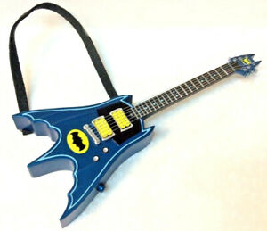 Hallmark 2019 Batman Rocks Electric Bat Guitar Keepsake Ornament Plays TV Theme