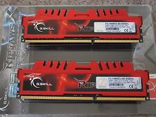 G-Skill Ripjaws 8gb 1866mhz DDR3 desktop memory  Excellent timings! No Reserve
