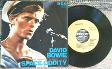 """DAVID BOWIE """"SPACE ODDITY"""" RARE 45 MADE IN ITALY 1975 ED.RCA STEREO TPBO"""