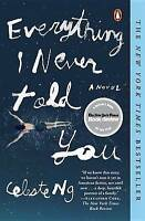NEW Everything I Never Told You By Celeste Ng Paperback Book - Free Shipping