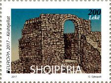 Albania Stamps 2017.  Europa/Europe CEPT: Castles. Set MNH