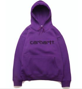 Mens Sweatshirt Loose Casual Long Sleeve Hoodie Womens Carhartt Printing Hooded