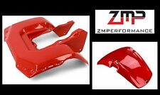 NEW HONDA 84 - 86 ATC200S ATC 200S PLASTIC FRONT AND REAR FENDER SET RED 84 - 86
