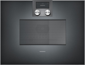 Gaggenau BM451100, 400 series, built-in compact oven with microwave function