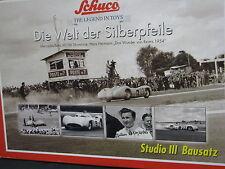 Schuco Studio lll Mercedes-Benz W196 Stromlinie #22 Hans Hermann Silver (JS)
