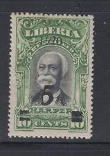 Liberia # 180 MINT PAIR VLH Italic 9  President Barclay