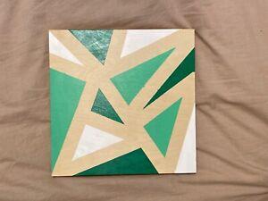 Green Geometric Art