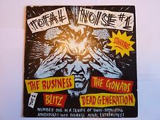 """TOTAL NOISE EP 7"""" SINGLE THE BUSINESS THE GONADS BLITZ DEAD GENERATION EXCELLENT"""