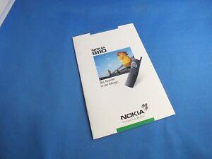 Original Nokia 8110 8110i Katalog Promo Broschüre Book Deutsh Info Blatt Buch