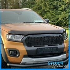 EGR Bonnet / Bug Guard Protector - Dark Smoke for Ford Ranger T6 WILDTRAK 19+