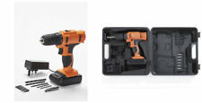 Cordless 18V Li-ion Drill Set Rechargeable + 6 x drill bits + 6 screwdriver NEW