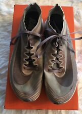 Nike Lab Sz 6.5 Mens Racing Shoes ZOOM FLY  AA3172 200  Grey/Taupe Obsidian