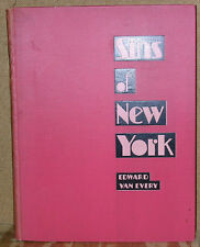 Sins of New York as Exposed by The Police Gazette-1st Edition-1930-Illustrated