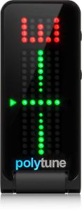 TC Electronic Polytune Clip Tuner Black