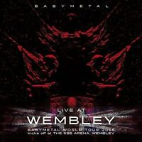 live at wembley cd BABYMETAL ( FREE SHIPPING) BABY METAL