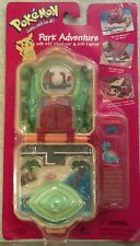 POKEMON Park Adventure Mini-Playset 1999 NIB with Vileplume and Lapras