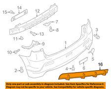 MITSUBISHI OEM 11-12 Outlander Sport Rear Bumper-Lower Molding Trim MZ575947EX
