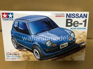 Tamiya 95477 1/32 Mini 4WD Kit Type 3 Chassis Nissan Be-1 Blue