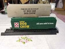 Bachmann Bros Ho Scale Vintage Purina Dog Chow 51' Box Car New in The Box.
