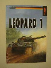Leopard 1   Wydawnictwo Militaria #9 **Polish Text**