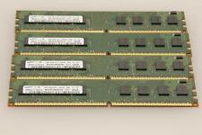 4GB 4x1GB PC2-6400 Samsung 1Rx8 DDR2 800MHz DIMM Desktop RAM M378T2863EHS-CF7