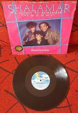 """SHALAMAR **A Night To Remember - The M & M Mix** SCARCE 1986 UK 12"""" Single"""