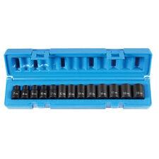 "Grey Pneumatic 13 Pc. 3/8"" Drive Standard Length Metric Impact Socket Set 1203M"