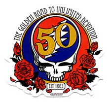 The Grateful Dead - 50th Anniversary Sticker