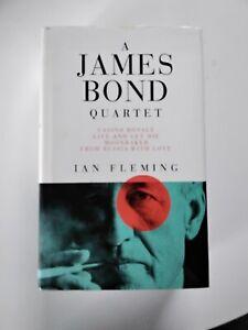 Ian Fleming James Bond Quartet Jonathan Cape Hardback 1992 casino royale FRWL