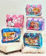 Kids Licensed Overnight Bags Luggage Minnie Paw Patrol Frozen Toy Story Disney
