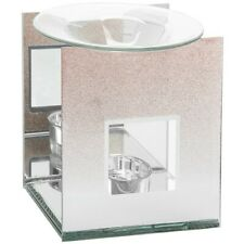 Chic Mirrored Rose Gold Deco T-Light Oil or Wax Melt Burner Home Decor Home Gift