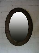 Wandspiegel Spiegel Orientalisch Orient in Trendigen Look Metalrahmen OVAL 65X90