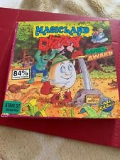 DIZZY MAGICLAND Atari ST 16-bit 1990 Boxed Original platform game - Retro